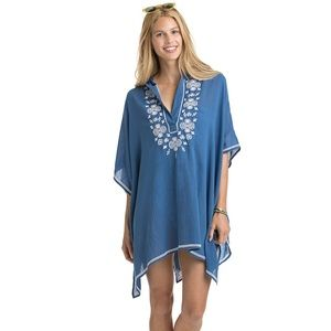 Hooded Embroidered Cover-Up - vineyard Vines